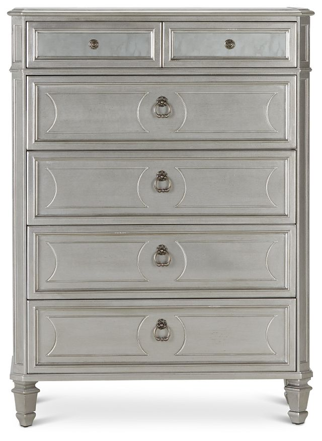 Sloane Silver Drawer Chest (1)