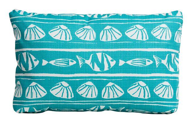 Caicos Blue Lumbar Indoor/outdoor Accent Pillow (0)