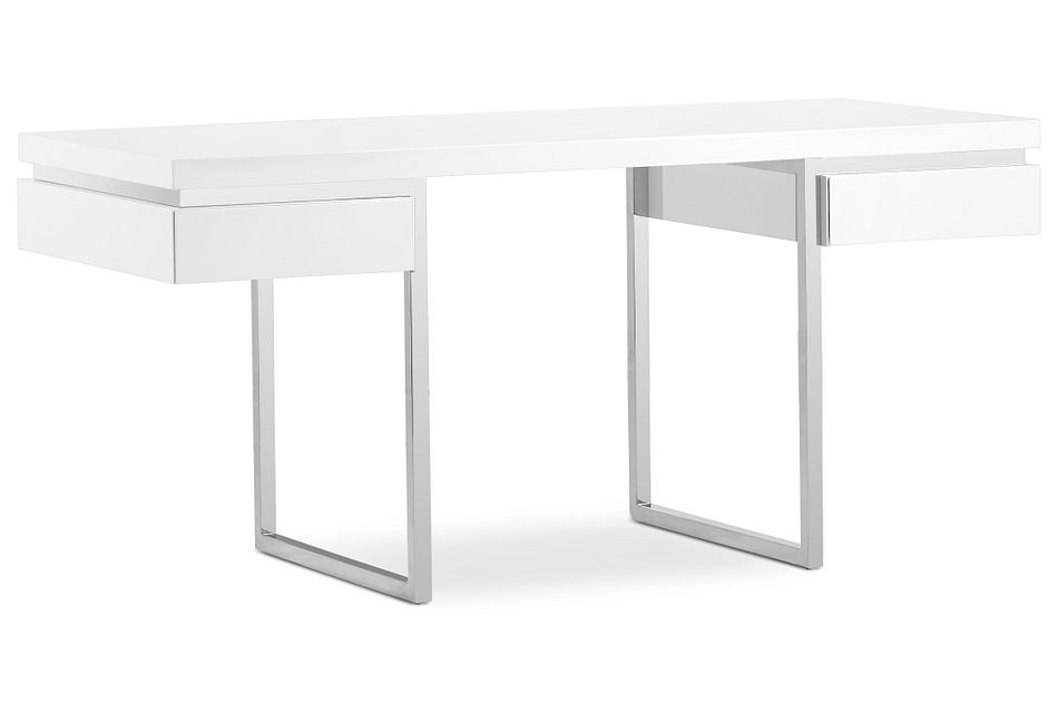 Vancouver White  Desk,  (2)