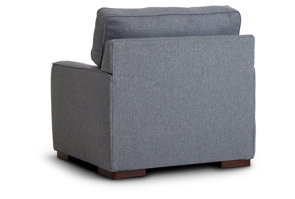 Austin Blue Fabric Chair