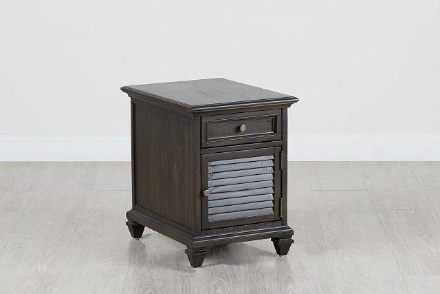 Sonoma Dark Tone Chairside Table (0)