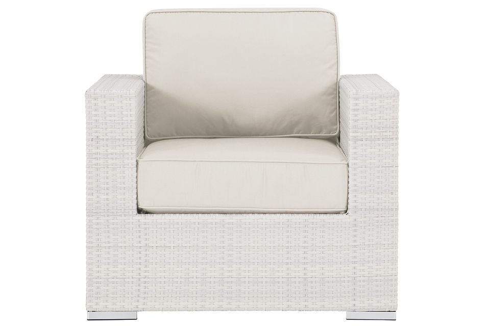 Biscayne White Chair