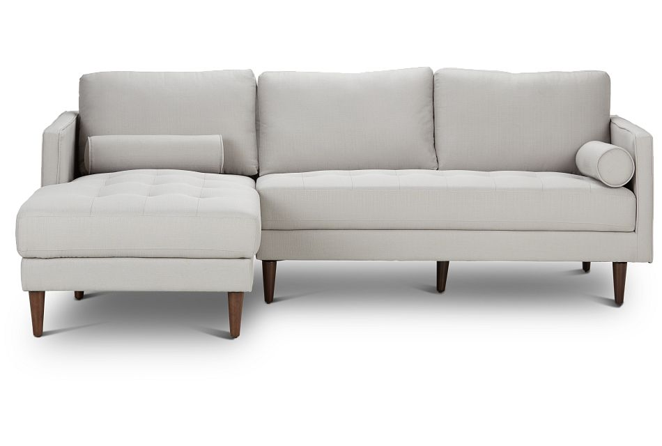 Rue Light Beige FABRIC Left Chaise Sectional,  (3)
