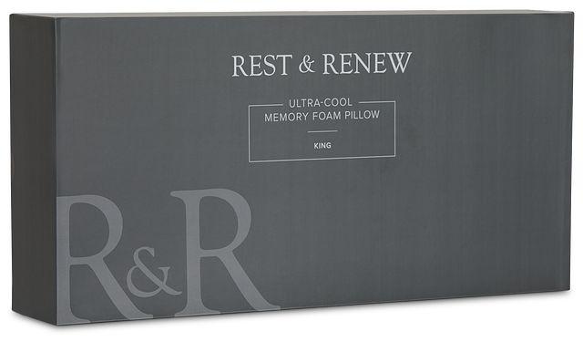 Rest & Renew Utra Cool Back Sleeper Pillow (3)