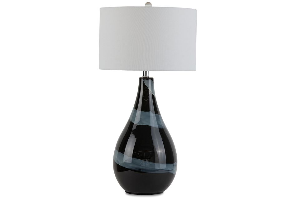 Zilya Black Table Lamp