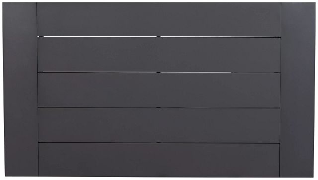 "Linear Dark Gray 70"" Rectangular Table (3)"