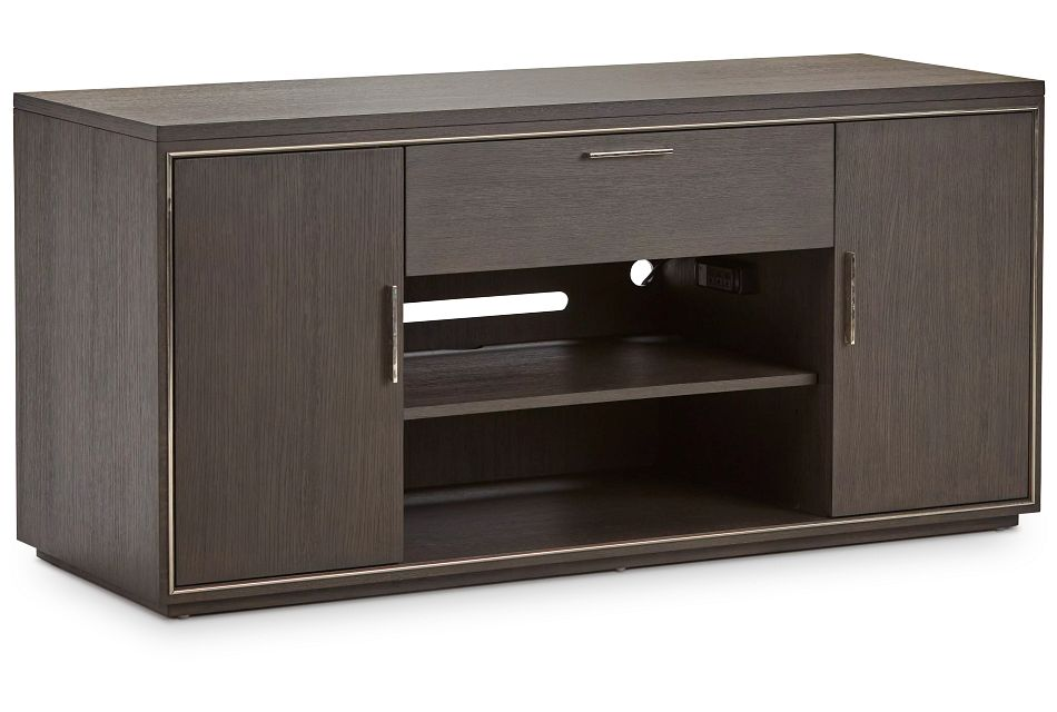 "Highline Dark Tone 64"" Tv Stand"