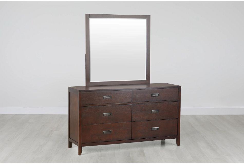 Chatham Dark Tone Dresser & Mirror,  (0)