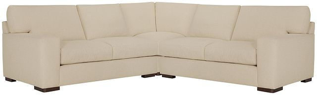 Veronica Khaki Down Small Two-arm Sectional (0)