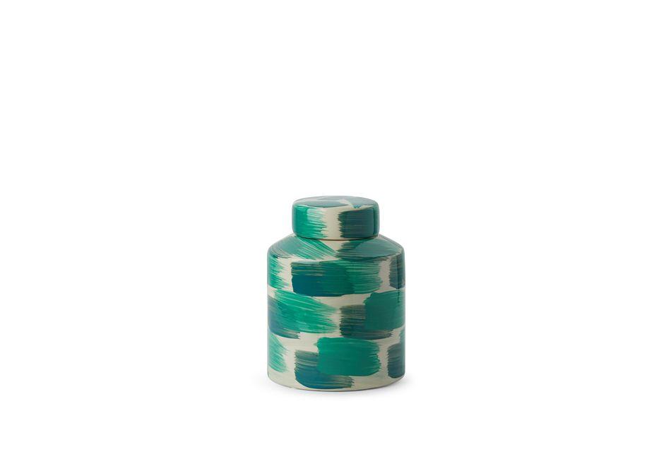 Nova Small Green Jar