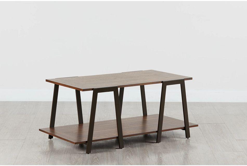 Kacey Dark Tone Coffee Table