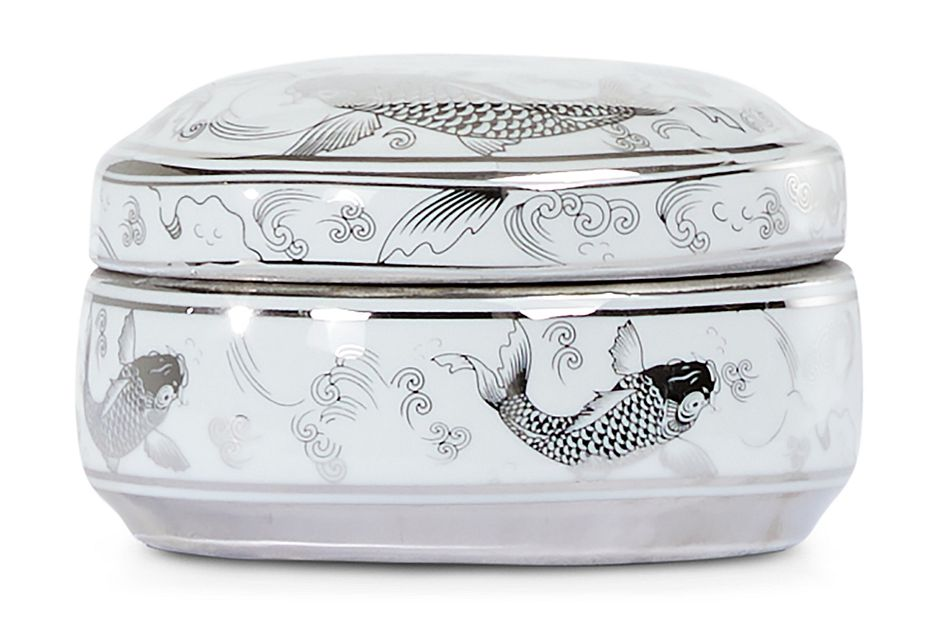 Koi Silver Small Box