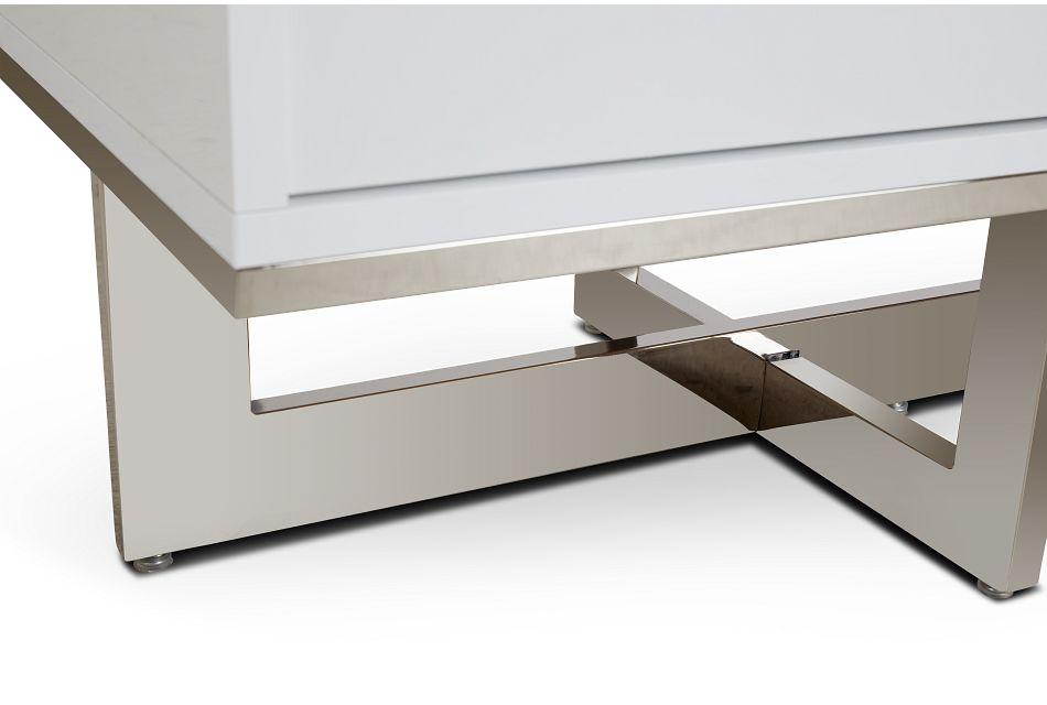 Cortina White Tv Stand