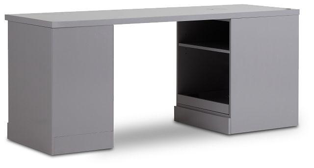 Newport Gray Peninsula Desk