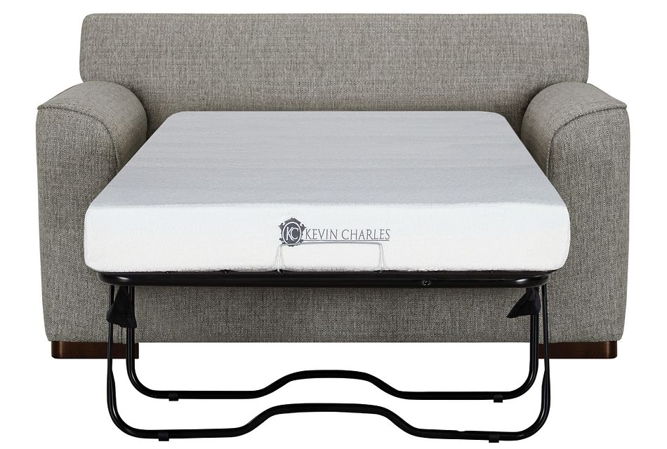 Austin Gray Fabric Memory Foam Sleeper