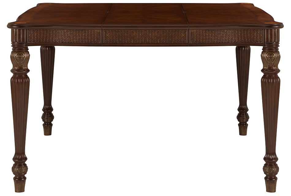 Tradewinds DARK TONE  Square High Dining Table