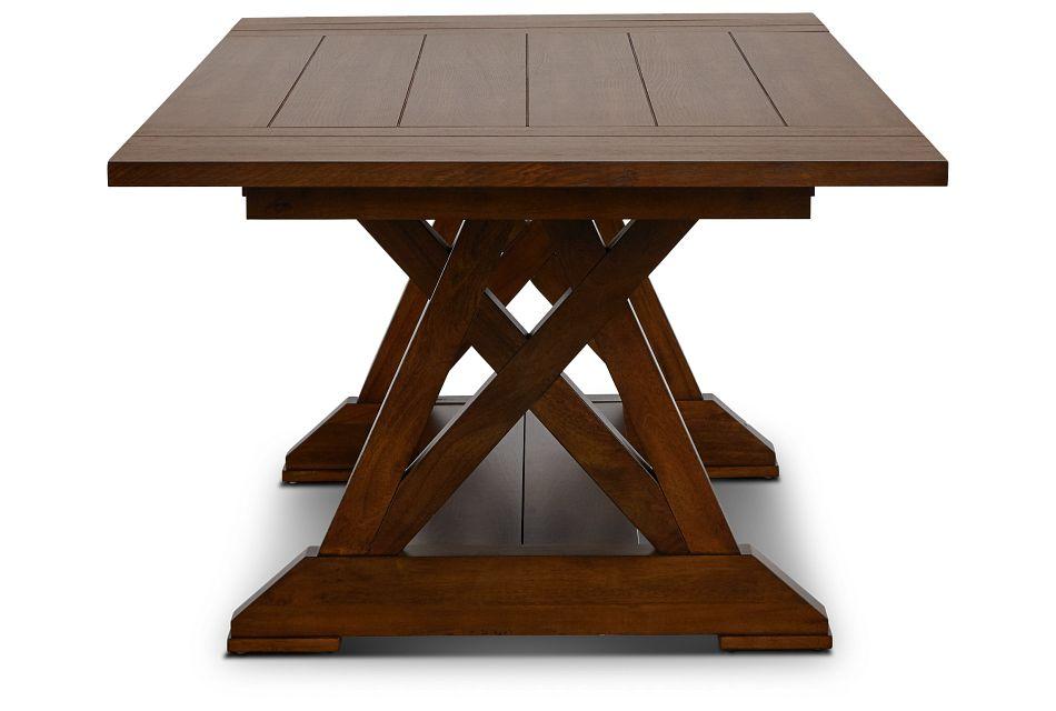Bloomington Dark Tone Rect Trestle Table,  (3)