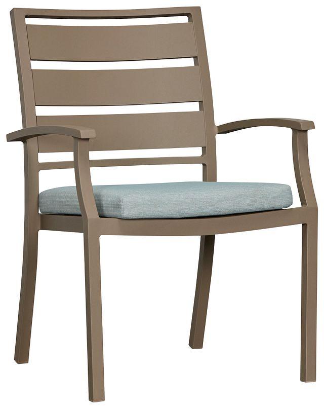 Raleigh Teal Aluminum Arm Chair (0)