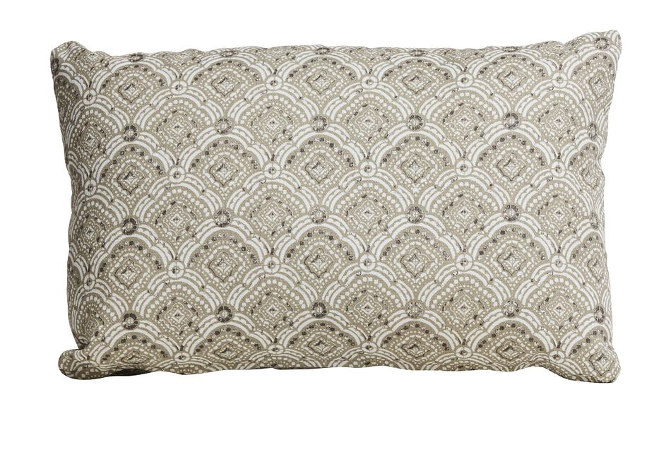"Anderson Light Gray 20"" Indoor/outdoor Accent Pillow"
