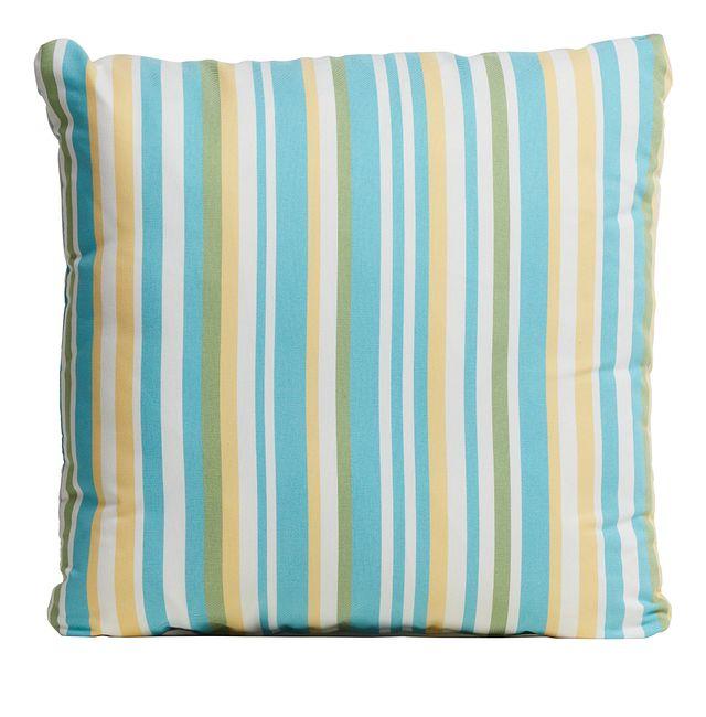 "Forward Light Blue 20"" Indoor/outdoor Accent Pillow"