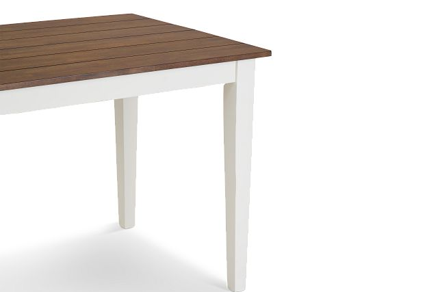 Sumter White High Dining Table