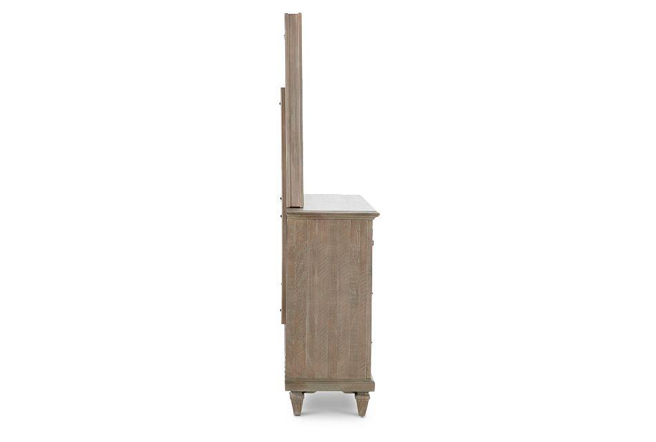 Sonoma Light Tone Dresser & Mirror
