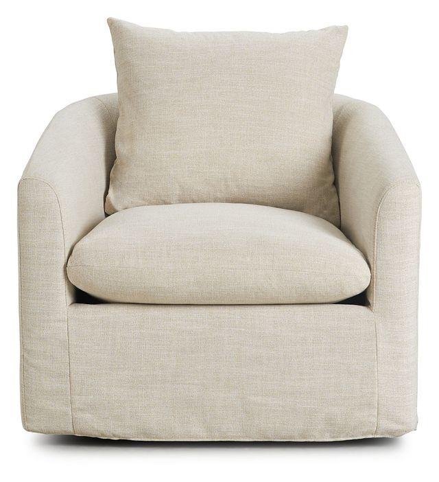 Willow Light Beige Fabric Swivel Chair (3)