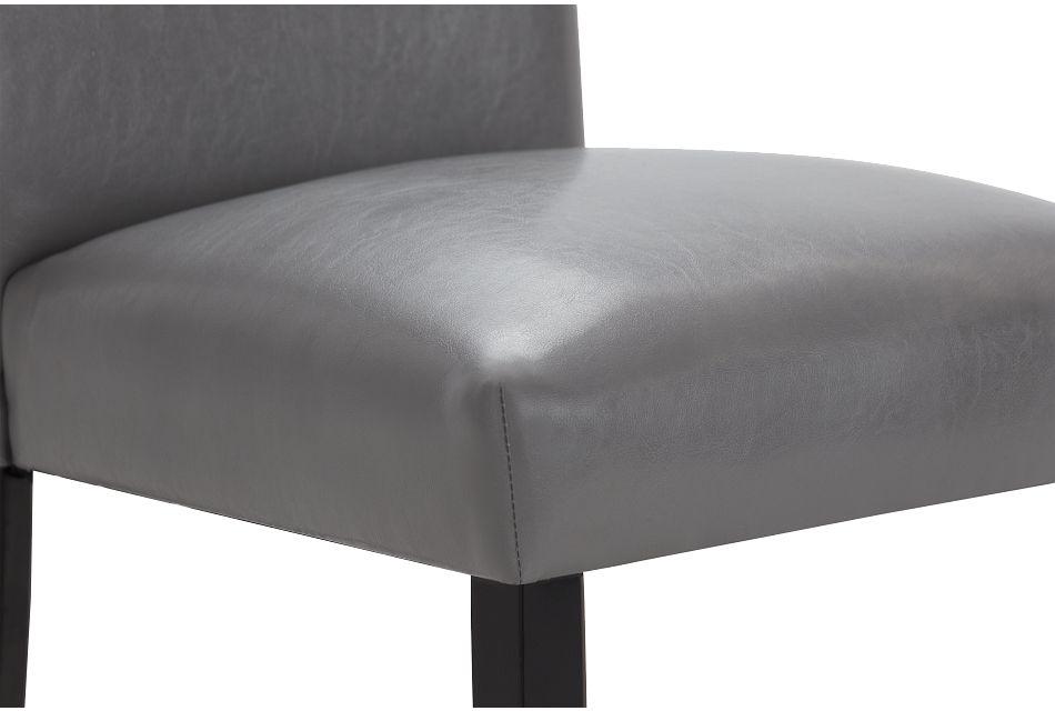 Auburn Gray Upholstered Side Chair