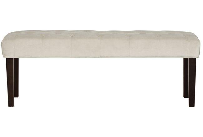 Sloane Light Beige Uph Bench