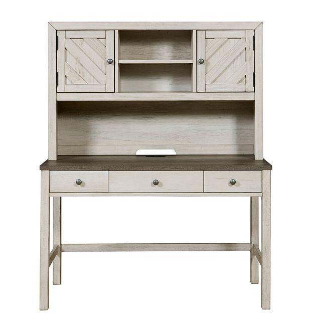 Casper Light Tone Desk And Hutch (0)