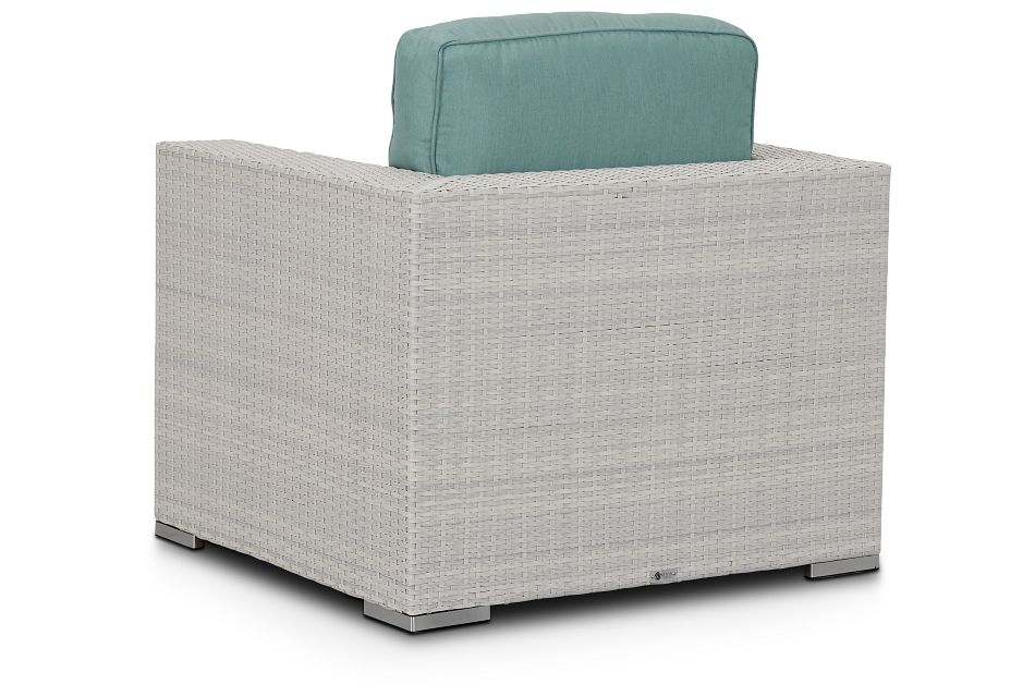 Biscayne Teal Chair