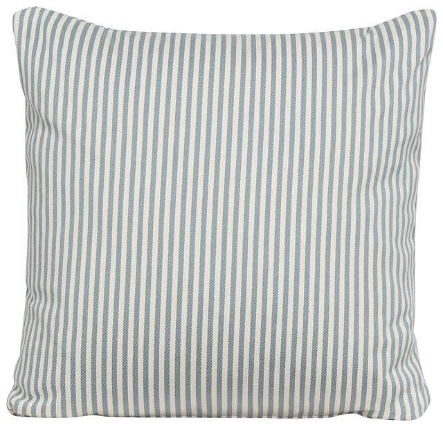 Longboard Blue Stripe Accent Pillow (0)