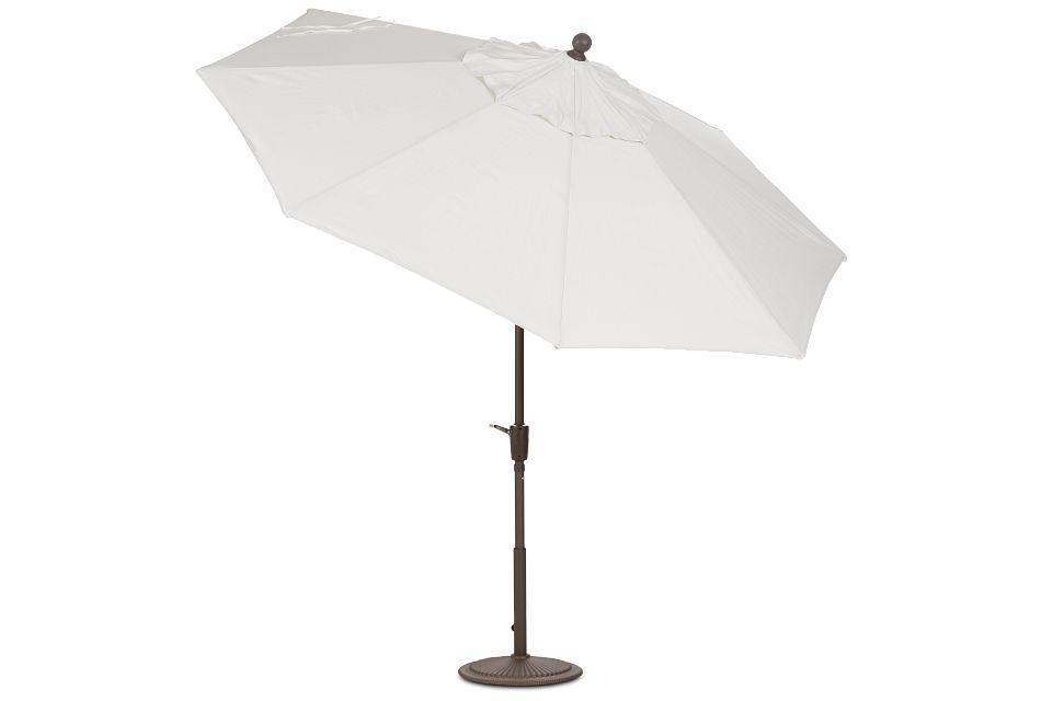 Maui White Umbrella Set