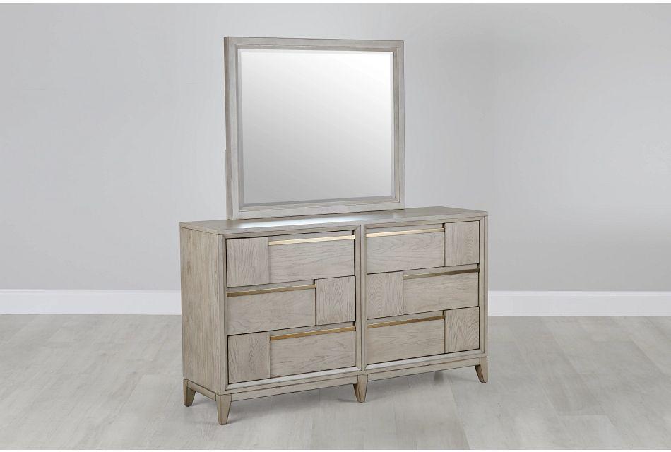 Sedona Gray Dresser & Mirror