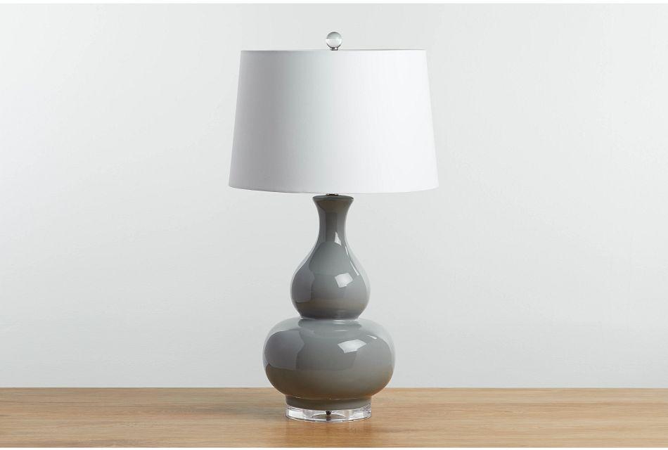 Magnus Gray Table Lamp