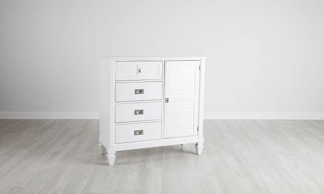 Marina White Door Chest (3)