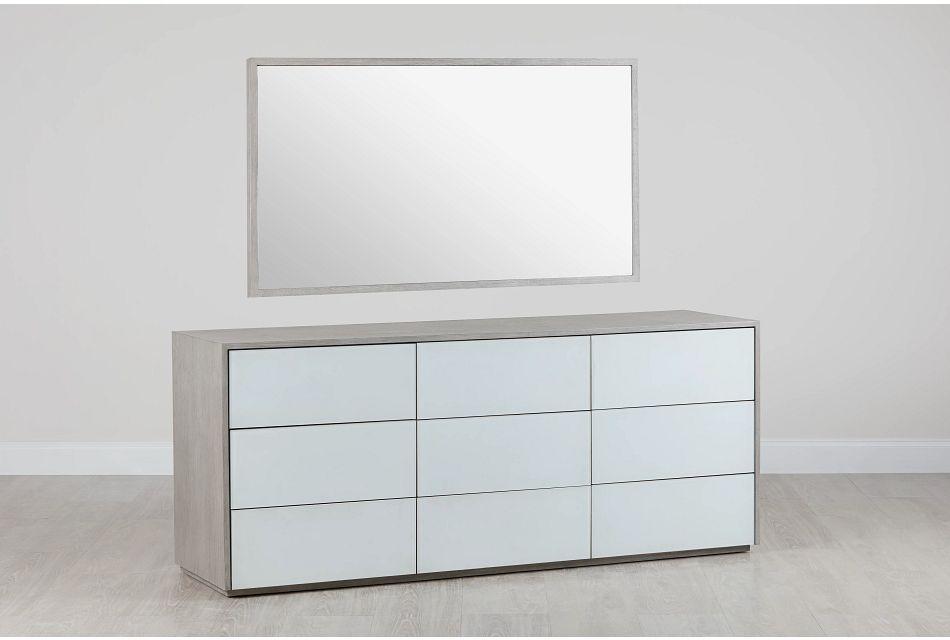Rio Light Tone Dresser & Mirror