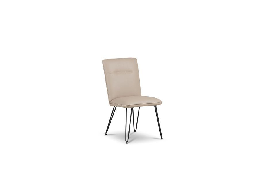 Demi TAUPE  Upholstered Side Chair,  (1)