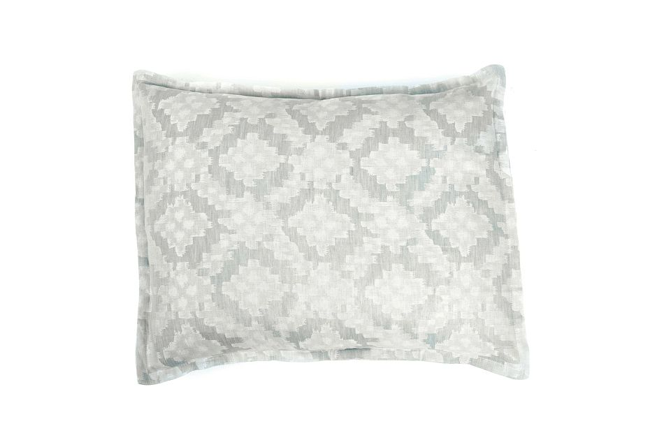 Dawson Light Blue Sham