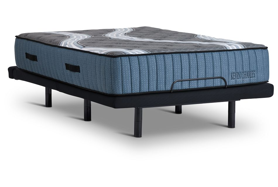 Kevin Charles Vanderbilt Lux Firm Luxury Firm Bronze Adjustable Mattress Set