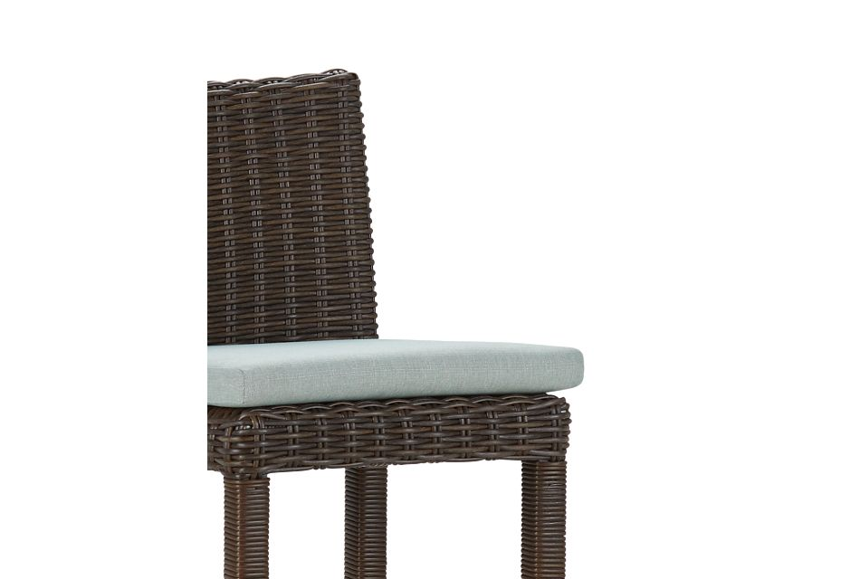 """Southport Teal Woven 30"""" Barstool"""