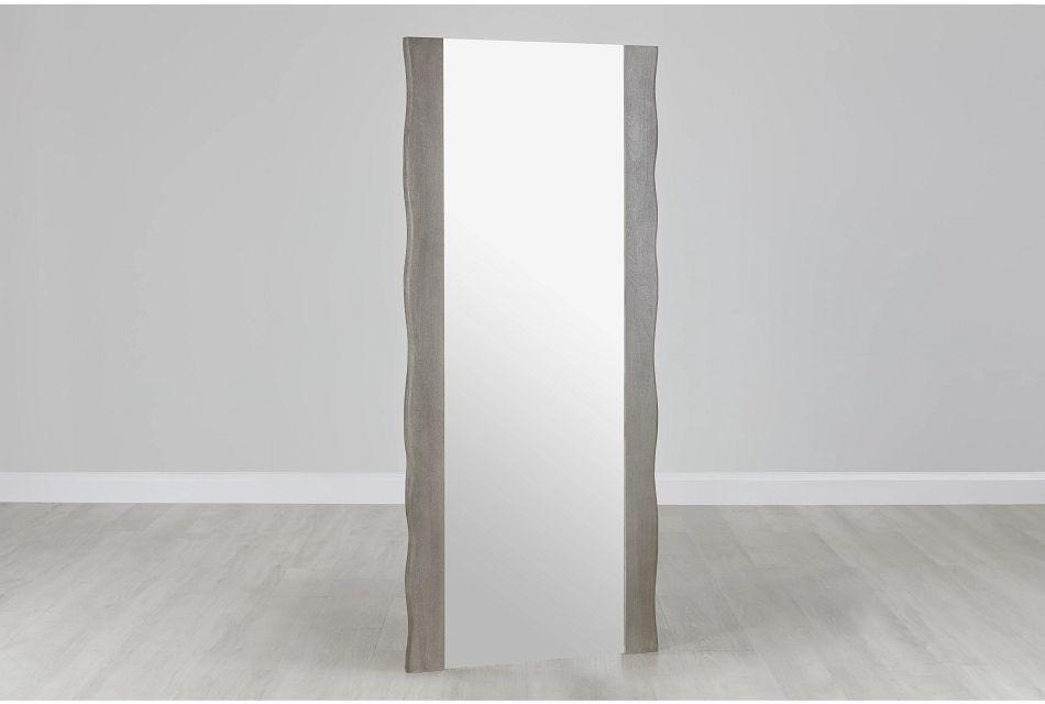 Waverly Gray Floor Mirror