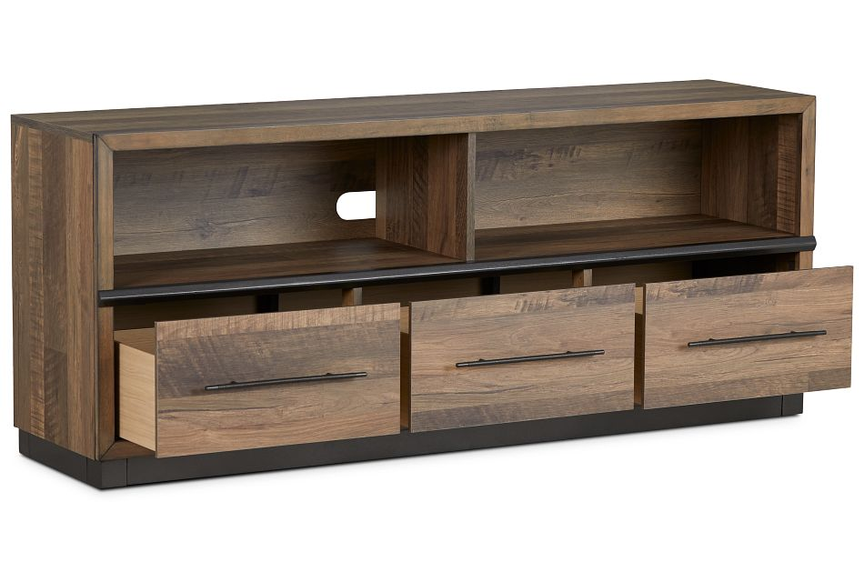 """Boulder 66"""" Mid Tone Tv Stand"""