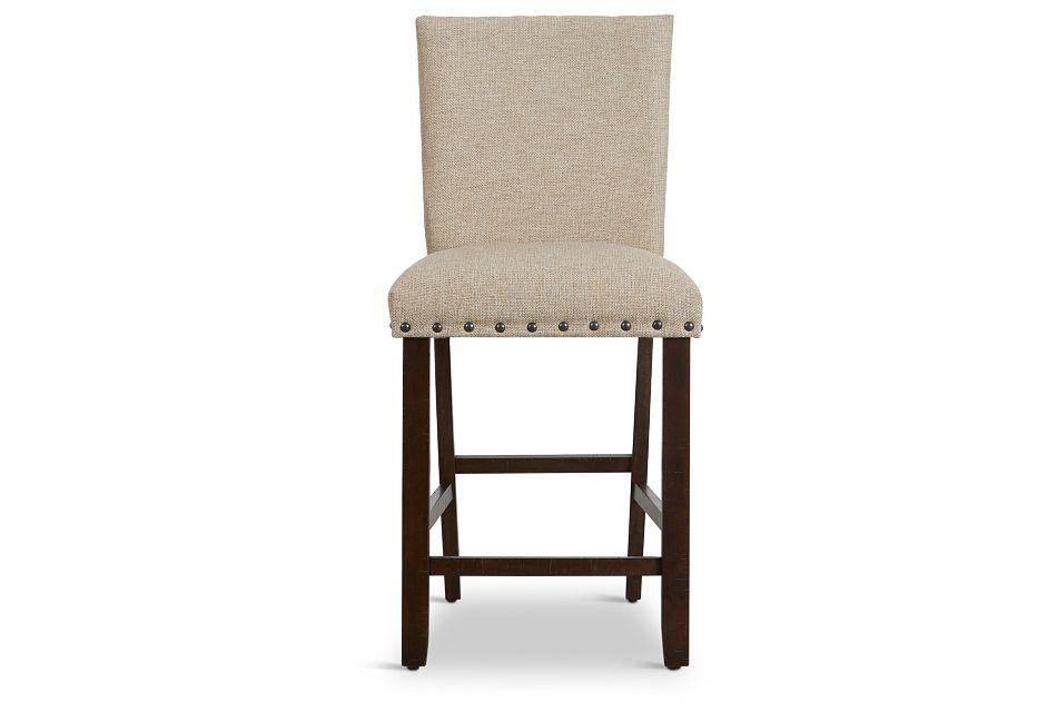"""Jax Beige 24"""" Upholstered Barstool"""