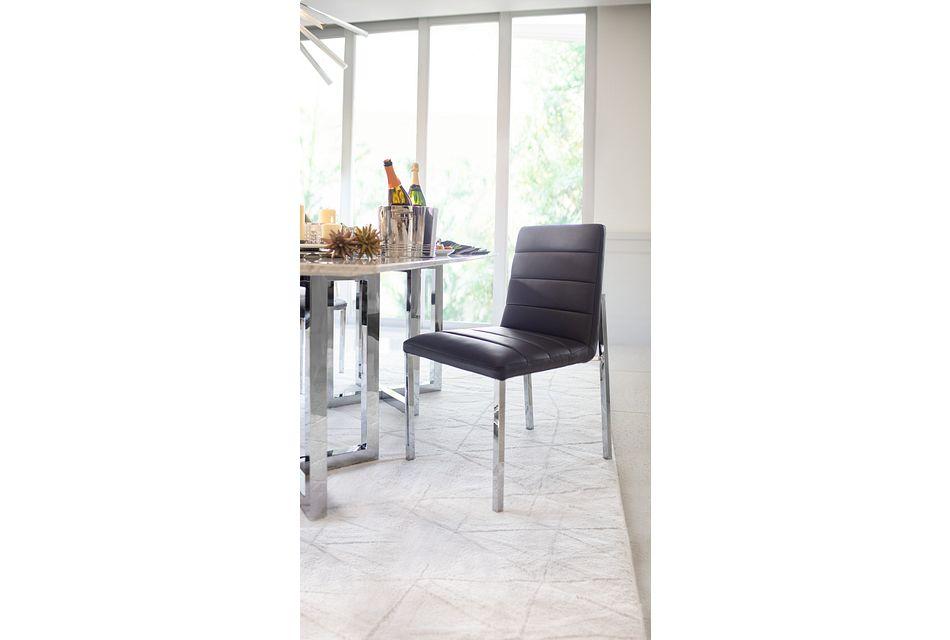 Amalfi Gray Uph Side Chair