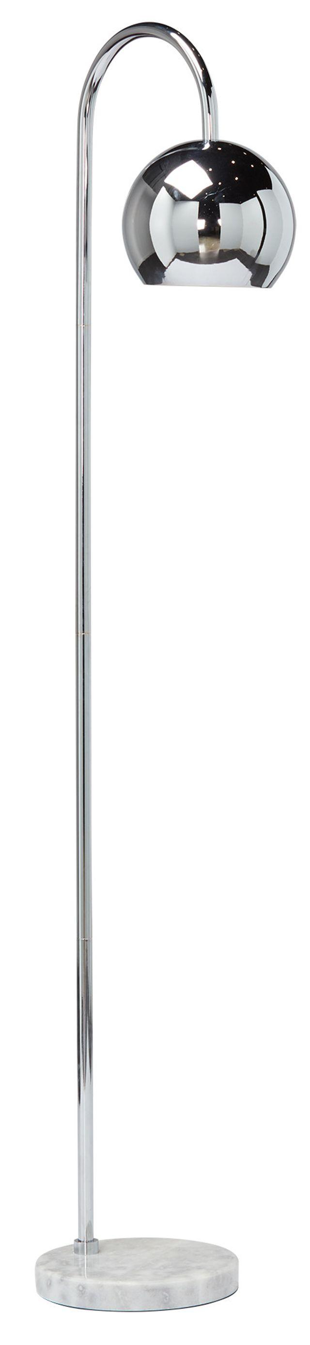 Audra Silver Arc Floor Lamp (0)