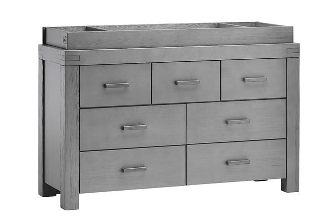 Piermont Gray Dresser With Changing Top (1)