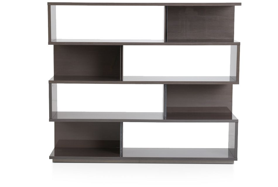 Athena Dark Gray Bookcase,  (1)