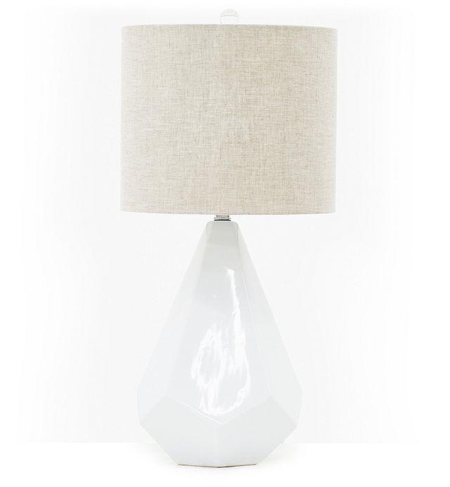 Delaney White Table Lamp (2)
