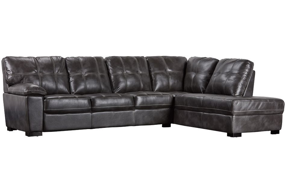 Henry Gray Micro Right Bumper Sectional